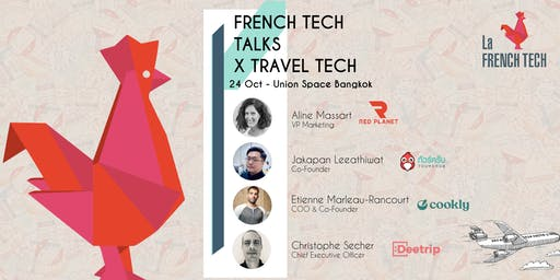 French Tech Bangkok Talks X Travel Tech