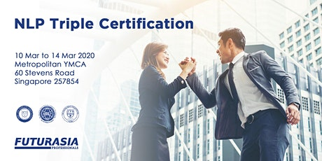 NLP Practitioner Triple Certification Course (Mar 2020) tickets