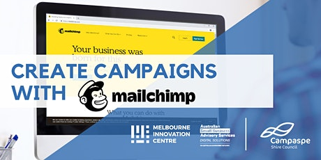 [CANCELLED WORKSHOP] Create Marketing Campaigns with Mailchimp - Campaspe  tickets
