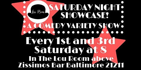 Saturday Night Showcase: a Comedy Variety Show tickets