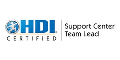 HDI Support Center Team Lead 2 Days Virtual Live Training in Muscat