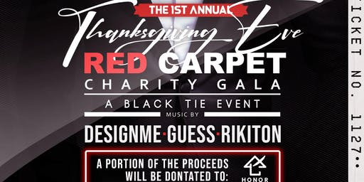 Thanksgiving Eve Red Carpet Charity Gala