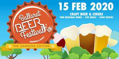 Ballarat Beer Festival 2020 tickets