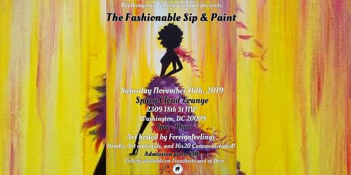 The Fashionable Sip & Paint