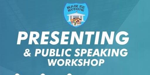Public Speaking Worksop