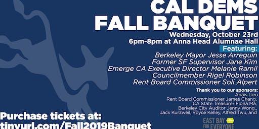 Cal Berkeley Democrats: Fall Banquet