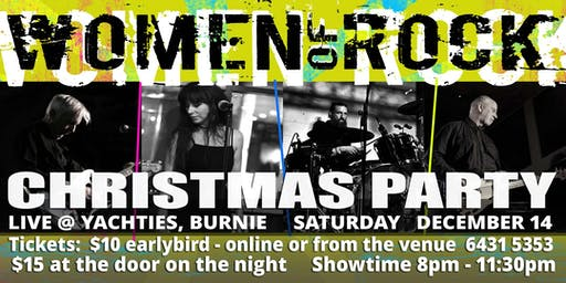 Women Of Rock - Christmas Party at Yachties