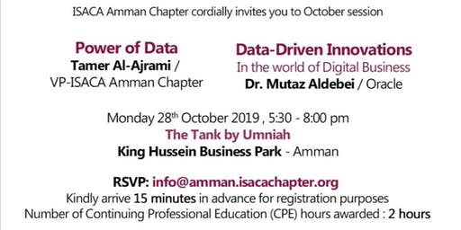 ISACA Amman Chapter - October Session