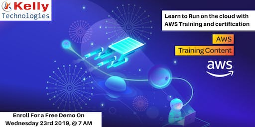 Attend For The Free Demo On AWS Training On 23rd Oct, 7 AM, Hyd.