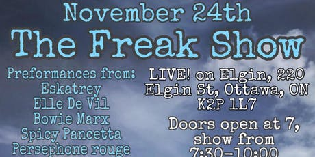 The Drag Spawn Present: The Freak Show, an All Ages Drag Show tickets