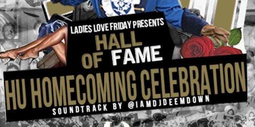 Ladies Love FRIDAYS Presents : HALL OF FAME