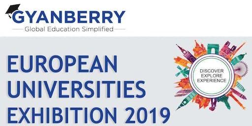 European Universities Exhibition 2019 - Abu Dhabi - 15th Nov (4 pm to 8 pm)