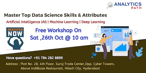 Register For Free Data Science Demo By Analytics Path On Saturday, 26th Oct