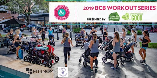FREE BCB Workout with Fit4Mom and Dancing for Donations Presented by Seventh Generation!