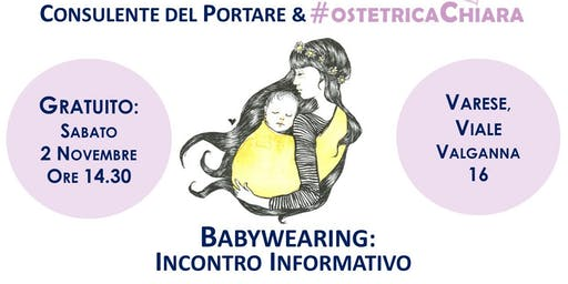BABYWEARING: Incontro Gratuito