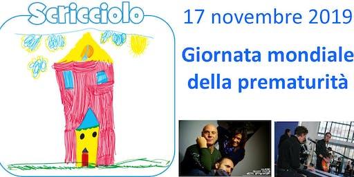 Giornata mondiale della prematurità - Maxino Flavio Furian & Calicanto Band