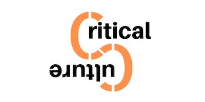 Critical Culture Monthly Meet Ups- Hobart