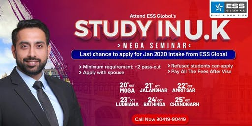 Study in UK Mega Seminar