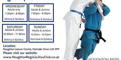 JU JITSU, Houghton Regis Ju Jitsu Club,   1st lesson FREE  tickets