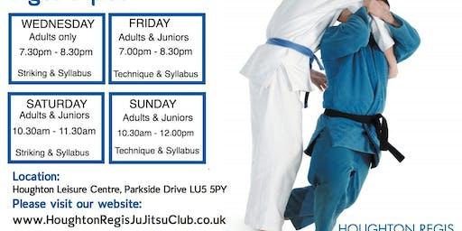 JU JITSU, Houghton Regis Ju Jitsu Club,   1st lesson FREE
