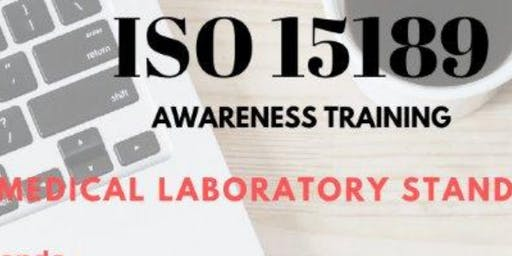 "Invitation for ""FREE ONE DAY AWARENESS TRAINING ON ISO 15189:2012 -Nov-1-19"
