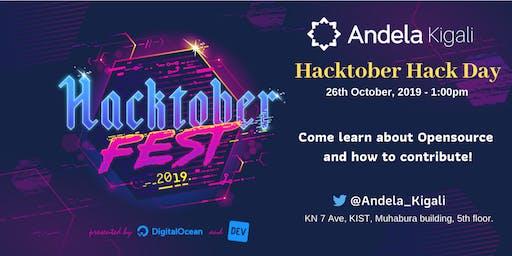 Andela Kigali Hacktober Hack Day