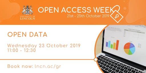 Open Data: Benefits & Advantages to Researchers (Open Access Week)