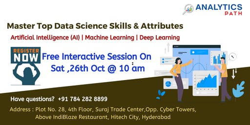 Attend Free Data Science Workshop To Kick Start Your Analytics Career