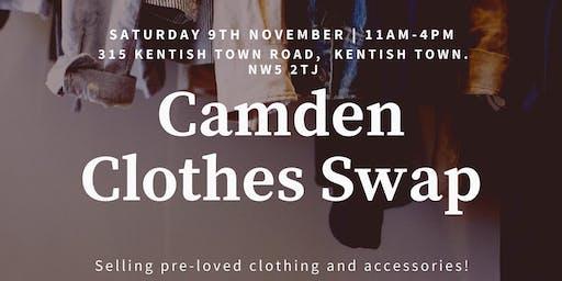 Nothing new November: Camden clothes swap