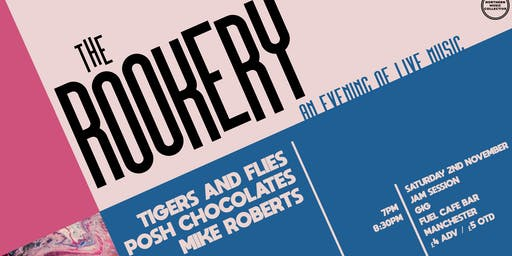 The Rookery: Jam Session & Gig at Fuel, Manchester