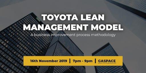 Toyota Lean Management Model