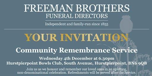 Community Remembrance Service