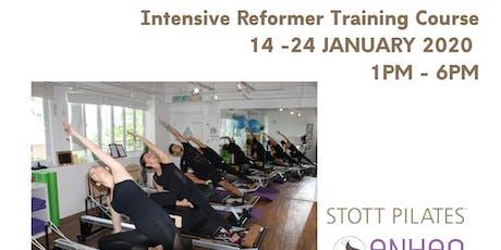 Reformer Pilates Training tickets