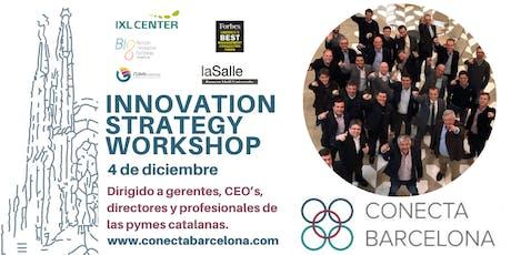 INNOVATION STRATEGY WORKSHOP en Barcelona tickets