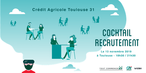 Cocktail Recrutement Toulouse : décrochez un emploi dans votre région !
