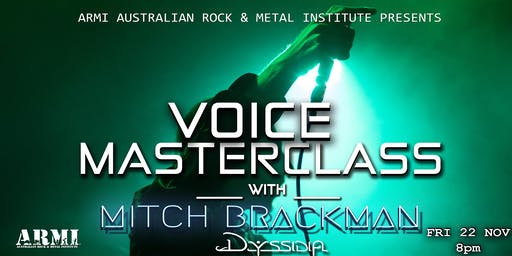 Voice Masterclass- Mitch Brackman