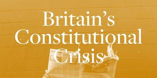 Britain's Constitutional Crisis: Brexit & Journalism