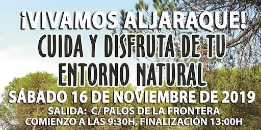 Vivamos Aljaraque. Ruta: Aljaraque - Canal Torre Vigia