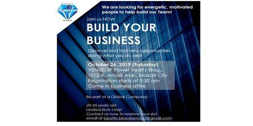 Build Your Business Workshop