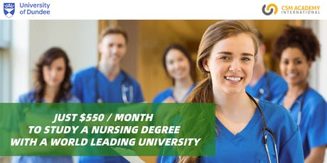 Course Preview: Just $550/month To Study A Nursing Degree! tickets