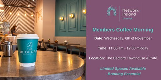 Network Ireland Limerick - November Coffee Morning