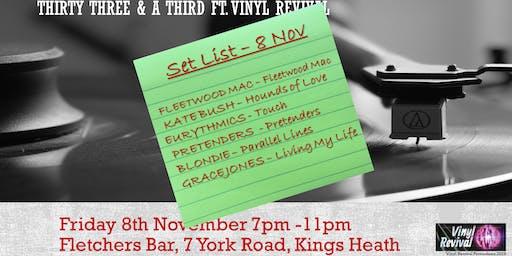 33 & a Third - Classic Albums at Fletchers Bar ft. Vinyl Revival