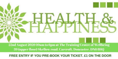 Annual Health and Happiness Expo tickets
