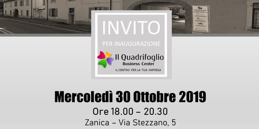 INAUGURAZIONE del QUADRIFOGLIO BUSINESS CENTER