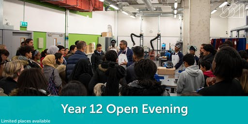 Year 12 Open Evening - Sir Simon Milton Westminster UTC