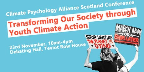 Transforming Our Society through Youth Climate Action tickets