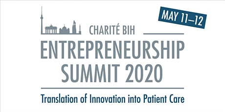 Charité BIH Entrepreneurship Summit 2020 tickets
