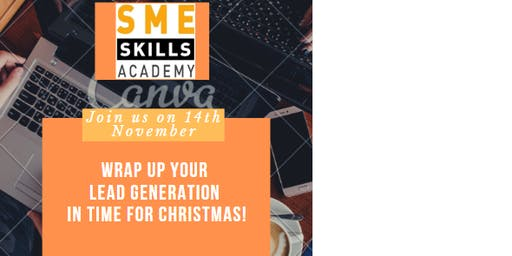 1 DAY SALES BOOTCAMP – Christmas Networking Lunch + Developing the Best Sales Strategy for your Business