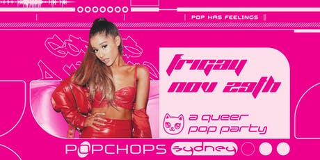 Popchops: A Queer Pop Party Sydney tickets