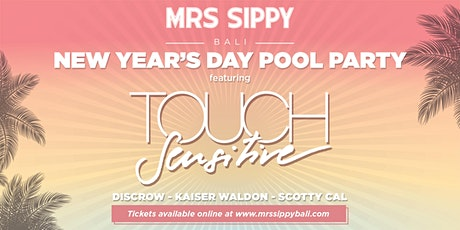 New Year's Day Pool Party  featuring TOUCH SENSITIVE tickets